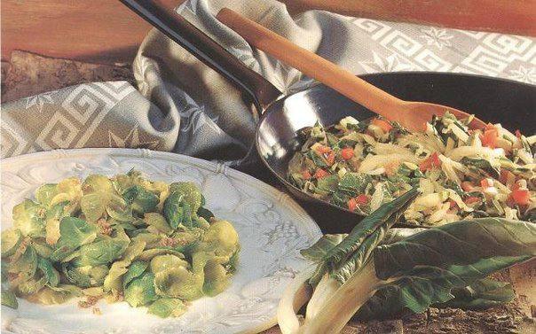 Готовим Закуски Брюссельская капуста с ореховыми крошками