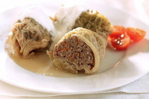 Готовим Закуски Голубцы из савойской капусты с мясом