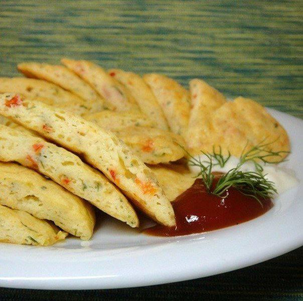Готовим Закуски Картофельно-сырное суфле