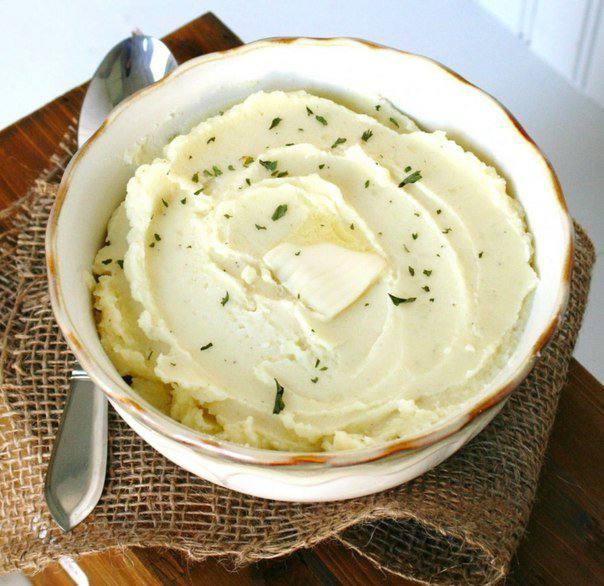 Готовим Закуски Картофельное пюре со сметаной
