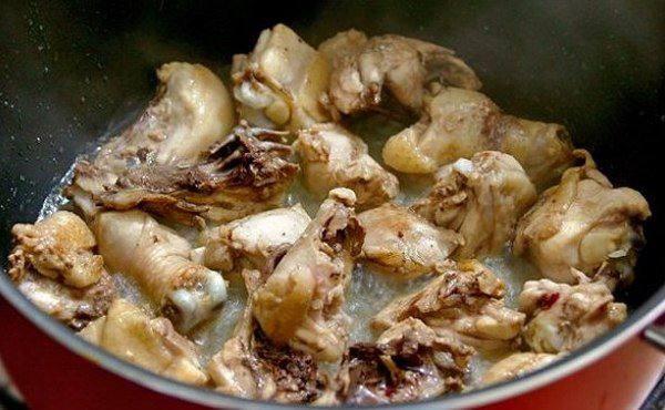 Рецепт Рис с капустой и курицей шаг-1