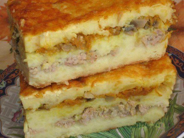 Готовим Закуски Слоеная картофельная запеканка