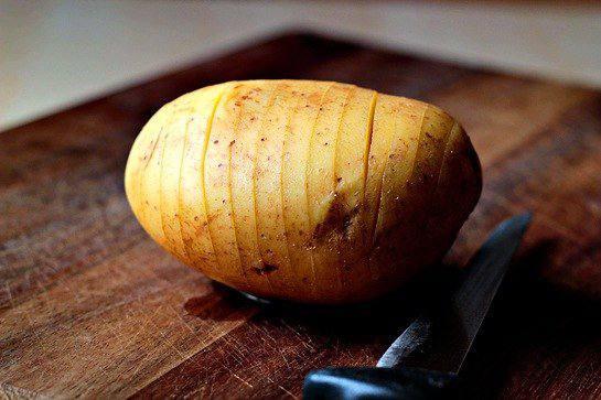 Рецепт Запеченый картофель с сыром  шаг-2