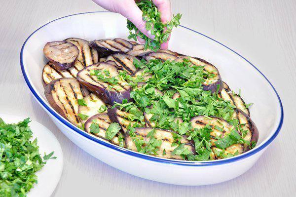 Рецепт Запеканка из овощей-гриль с сыром шаг-1