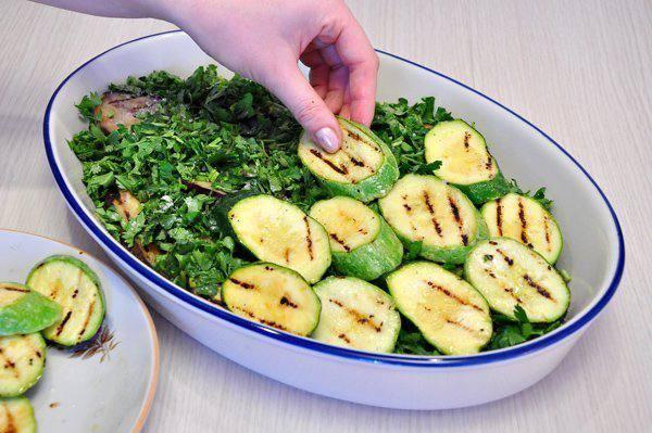 Рецепт Запеканка из овощей-гриль с сыром  шаг-2