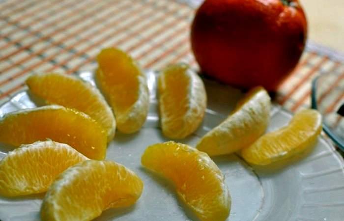 Рецепт Апельсиновые дольки в шоколаде  шаг-2