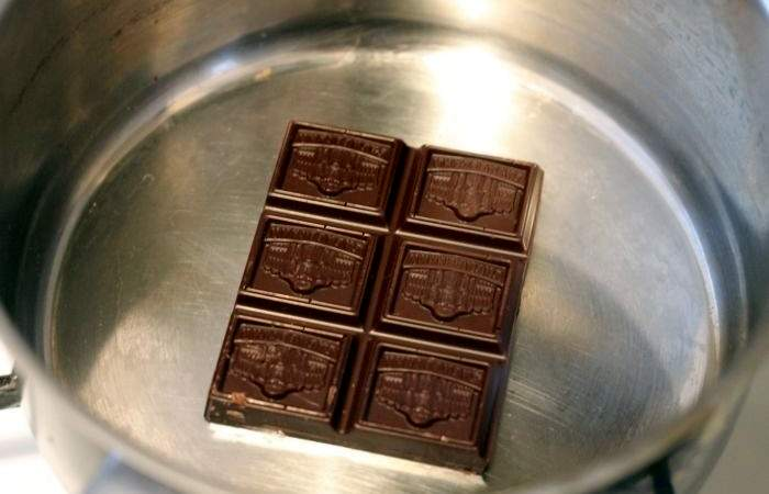 Рецепт Бананы в шоколаде с миндалем  шаг-4
