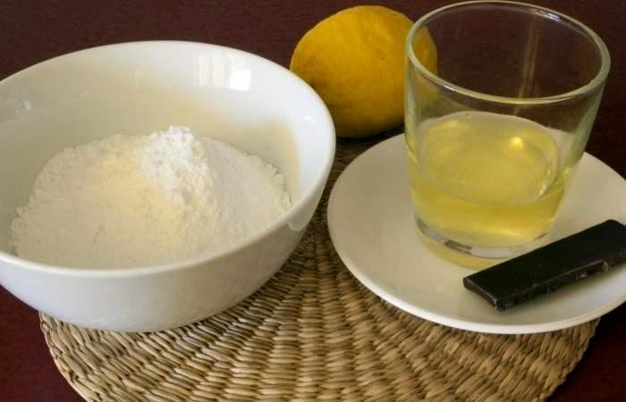 Рецепт Меренги с шоколадом шаг-1