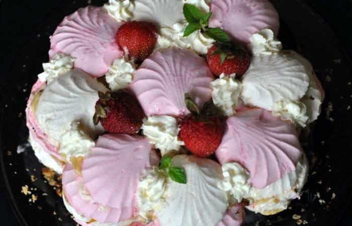 Готовим Десерты Торт из зефира и фруктов