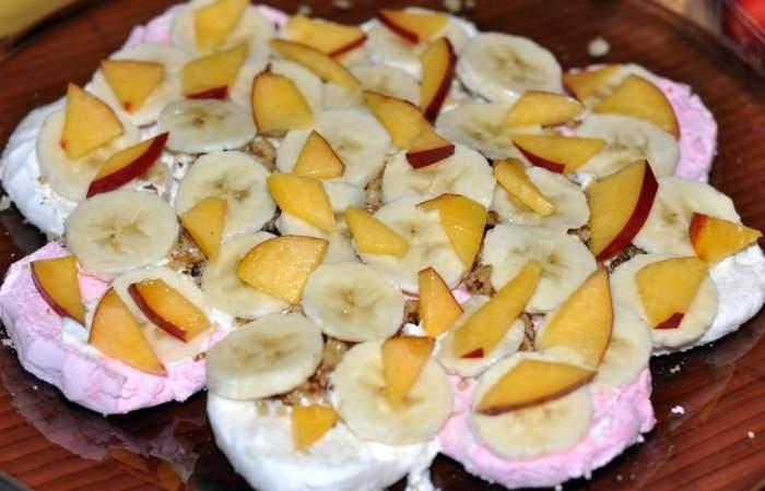 Рецепт Торт из зефира и фруктов шаг-3