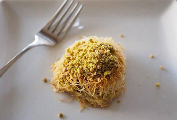 Кунафа и домашнее тесто, кадаиф - кулинарный рецепт