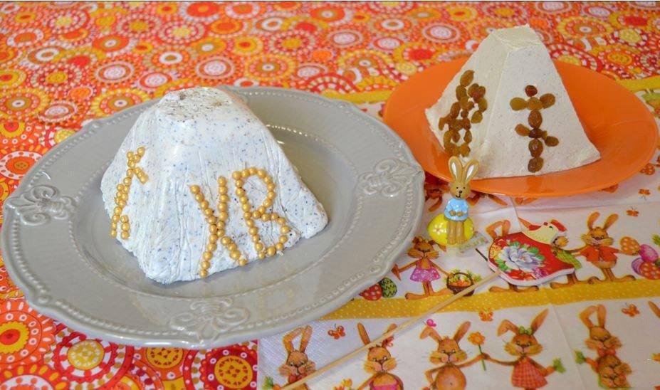 Готовим Десерты Пасха из обезжиренного творога