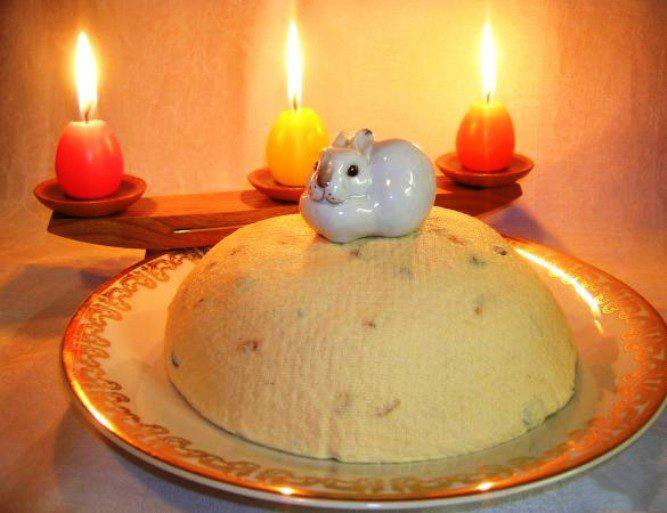 Готовим Десерты Пасха из ряженки