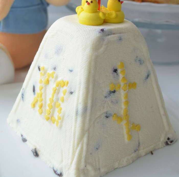Готовим Десерты Пасха из творога без яиц