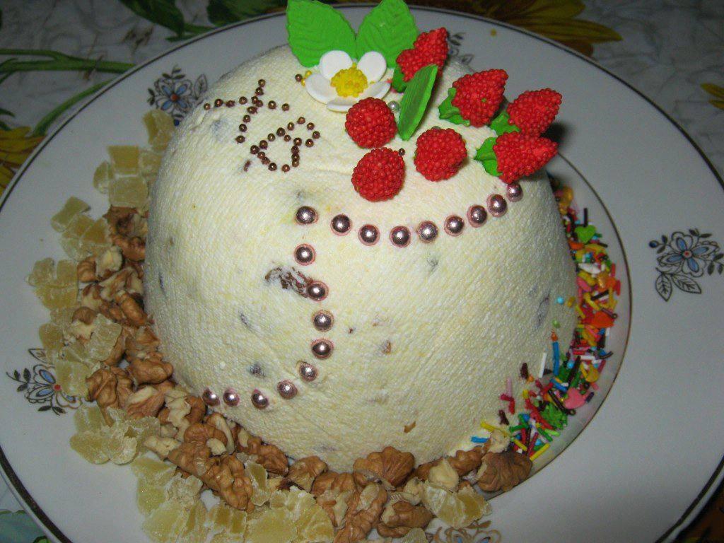 Готовим Десерты Пасха из жирного творога
