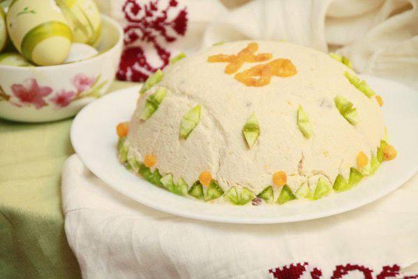 Готовим Десерты Пасха со сметаной и маслом