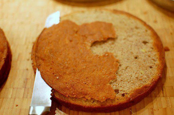 Рецепт Банановый торт шаг-6