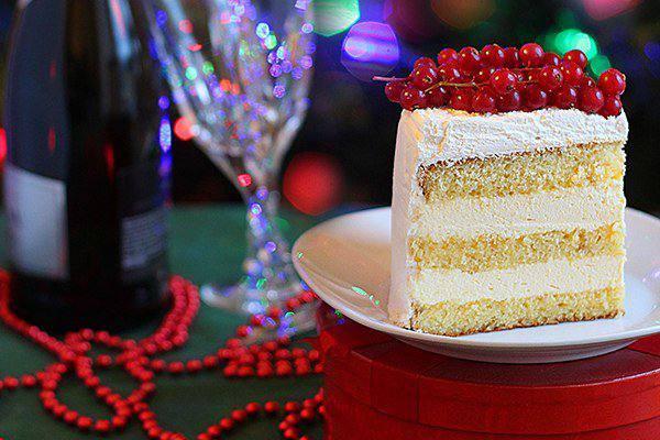 Готовим Десерты Белый апельсиновый торт
