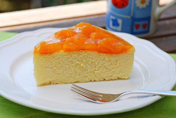 Готовим Десерты Чизкейк с мандаринами
