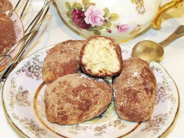 Готовим Десерты Пирожное «Картошка»