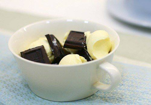 Рецепт Пирожное «Тающий шоколад» шаг-1
