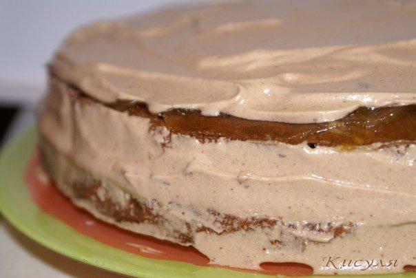 Рецепт Шоколадно-сырный торт шаг-9
