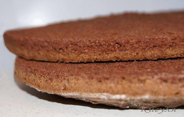 Рецепт Шоколадно-сырный торт шаг-6
