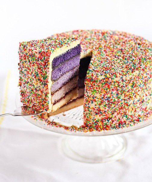 Рецепт Торт «Фиолетовый американец» шаг-1