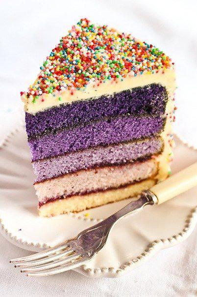 Рецепт Торт «Фиолетовый американец»  шаг-2