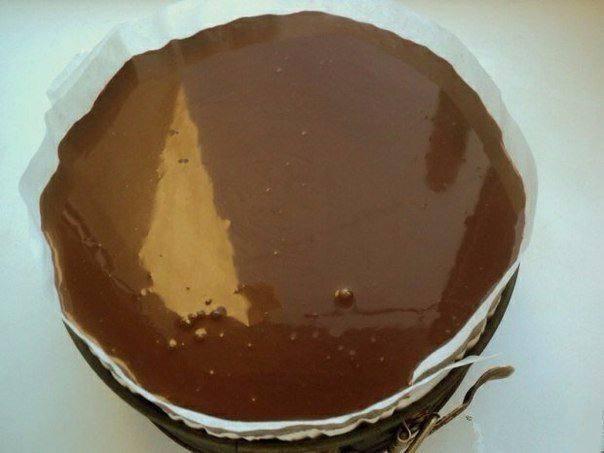 Рецепт Торт «Клубника и шоколад» шаг-7