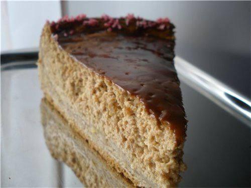 Готовим Десерты Творожный торт со вкусом кофе