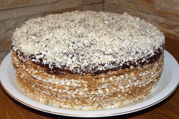 Готовим Десерты Вафельный торт