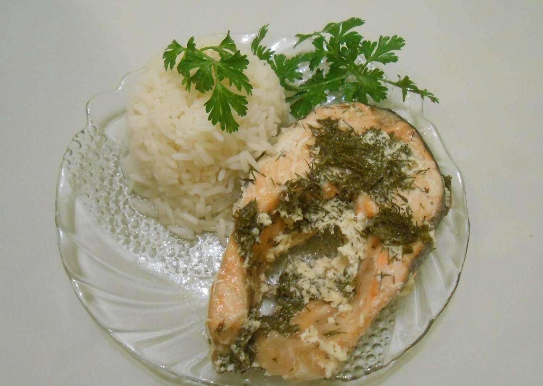 Рыба в сливочном соусе в духовке рецепт пошагово