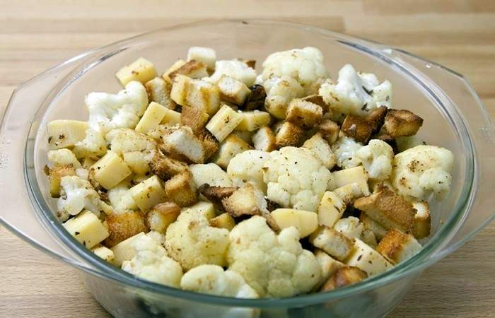 Рецепт Цветная капуста с сыром в пивном кляре  шаг-2