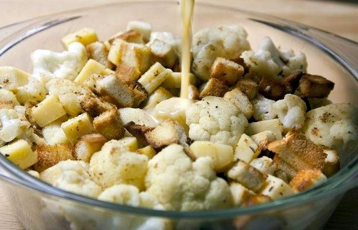 Рецепт Цветная капуста с сыром в пивном кляре  шаг-4
