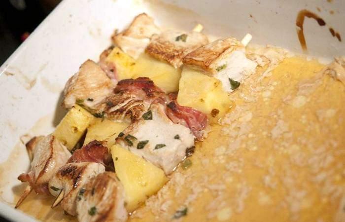Готовим Мясо Экзотический шашлык из курицы в духовке