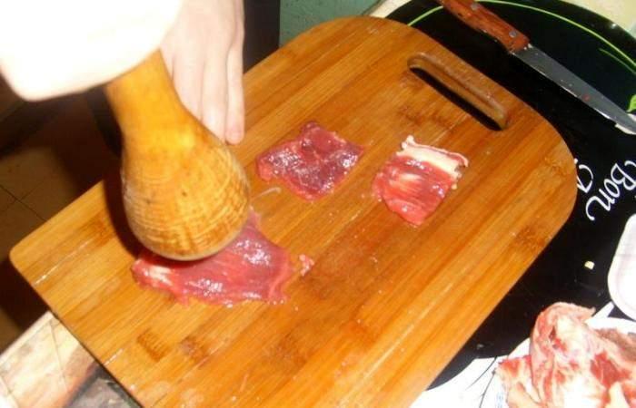Рецепт Говядина по-французски в духовке  шаг-2