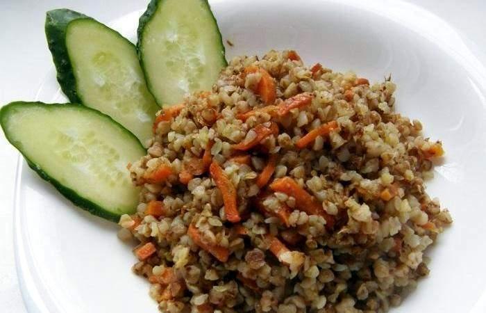 Рецепт Гречневая каша с морковью  шаг-4