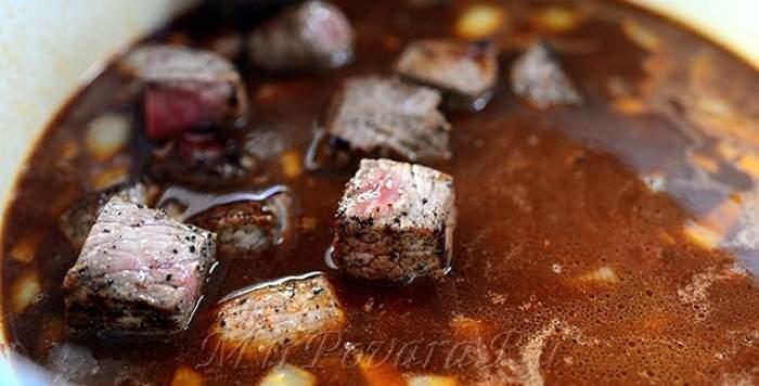 Рецепт Гуляш из говядины шаг-10