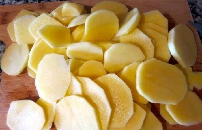Рецепт Картофель с беконом и кабачками  шаг-2