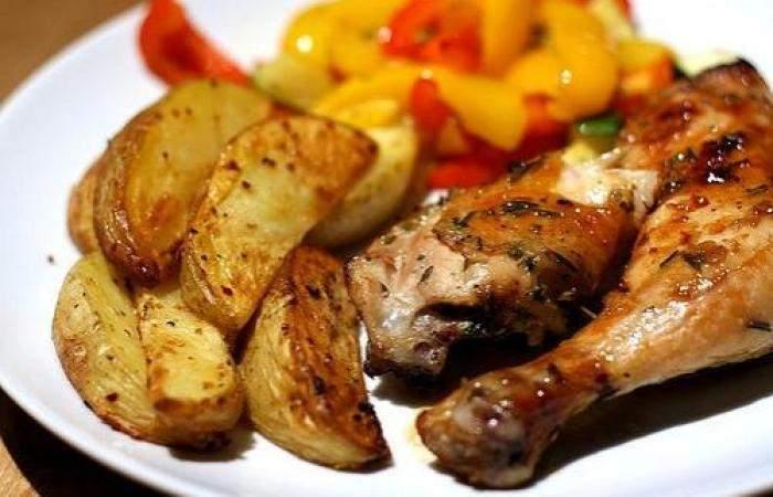 Готовим Мясо Картофель с куриными ножками