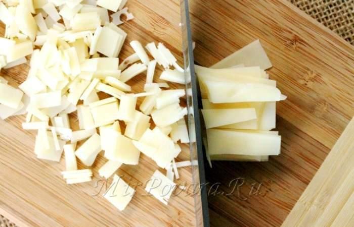 Рецепт Картофельные корзинки с сыром и беконом шаг-7