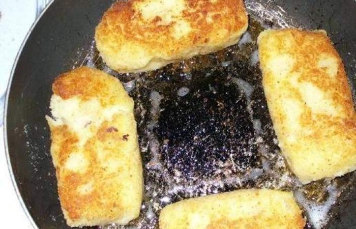 Рецепт Картофельные зразы с ветчиной и сыром шаг-6