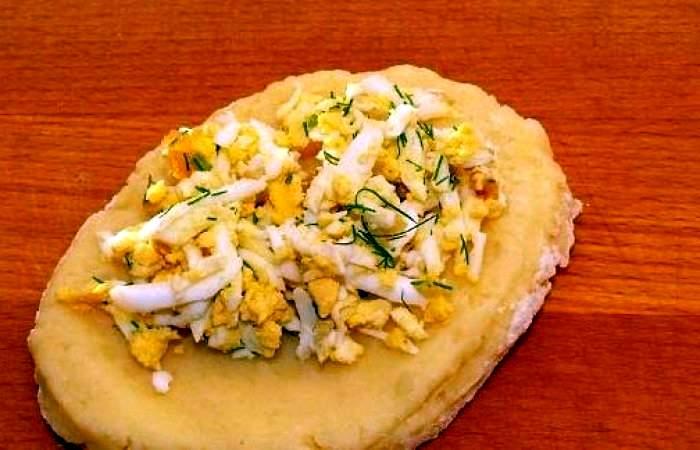 Рецепт Картофельные зразы с яйцом шаг-7