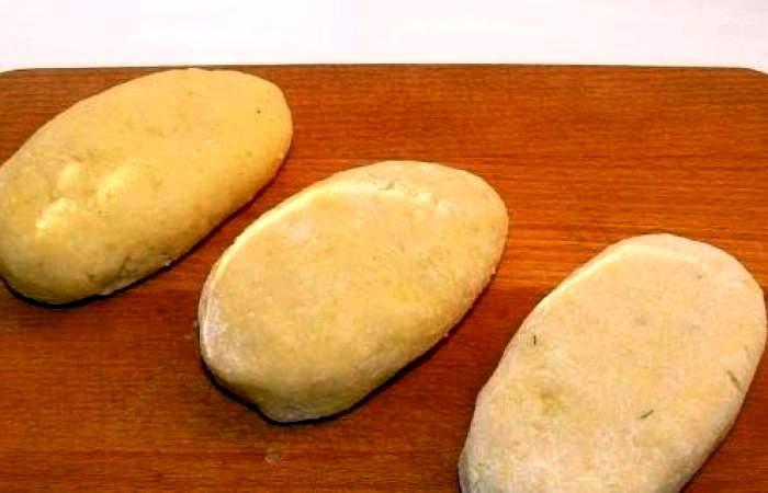Рецепт Картофельные зразы с яйцом шаг-8
