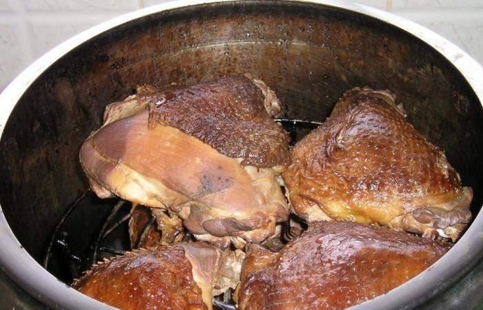 Рецепт Копченая курица в домашних условиях шаг-5