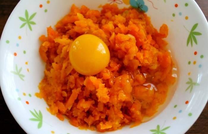 Приготовление: морковь очистить, вымыть и нарезать кружочками.