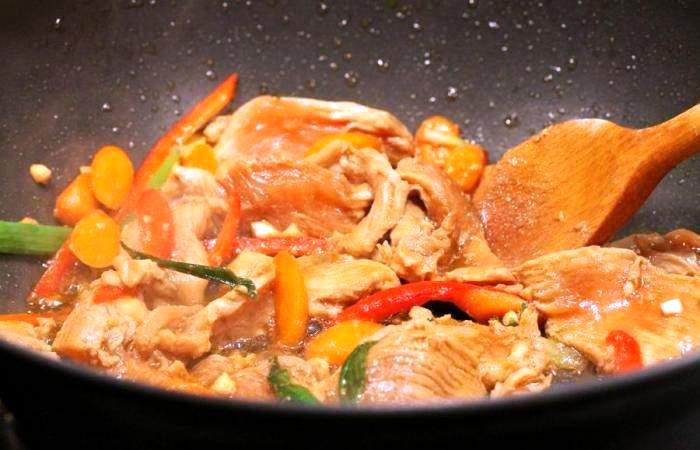 Рецепт Курица по-болгарски шаг-8