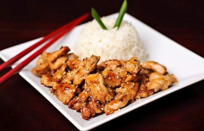 Мясо Курица в соусе Терияки