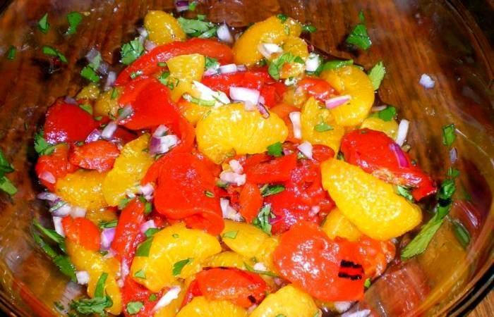 Рецепт Куриная грудка с салатом шаг-3